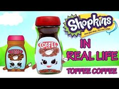 TOFFEE COFFEE Shopkins in Real Life from Season 2 - YouTube fill with m&ms or small candies.