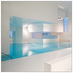 Les Bains des Docks is an aquatic centre in Le Havre, France, designed by French architect Jean Nouvel