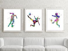 Soccer Girl Print, Printable, Girl Soccer Poster,Soccer Watercolor,Girl Soccer Wall Art,Printable Soccer,Soccer party,Soccer Art,Soccer Gift Hello! I am Francee, the owner and creator of Francee's Prints, printable wall art for every room in your home or office. Watercolor Art, Animal