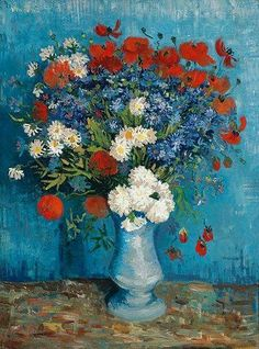 DUTCH FLOWERS by Vincent van Gogh (Dutch, 1853-1890) Place of creation: mostly in Paris