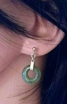 Check out this item in my Etsy shop https://www.etsy.com/uk/listing/551730921/gorgeous-vintage-jade-hoop-earrings-9ct