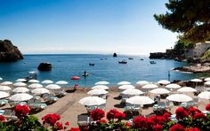 Villa Sant' Andrea in Taormina, Sicily...best coffee, best beach glass, best breakfast views...best.
