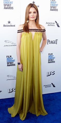 Film Independent Spirit Awards 2016: All the Best Red Carpet Looks - Stana Katic  - from InStyle.com