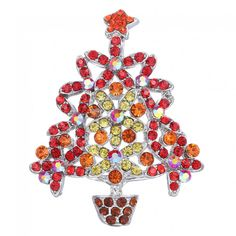 New Year's day is coming! Look this colorful shining crystal #TreeBrooch, is it a good accessory decorate yourself? is it a wonderful gift for your important person? It mustbe a best choise!   http://www.tomtop.cc/mABrie