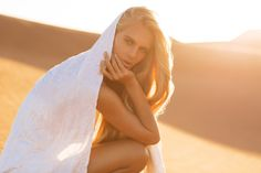 Hanalei Reponty Wears Desert Whites, Lensed By Jennifer Stenglein for TheLane - 3 Sensual Fashion Editorials | Art Exhibits - Women's Fashion & Lifestyle News From Anne of Carversville