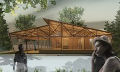 Galería de Lanzan crowdfunding para RCCC, un revolucionario centro comunitario y sostenible de reciclaje en Costa Rica - 4 Roof Architecture, Concept Architecture, Costa Rica, Recycling Center, Timber Structure, Roof Design, Sustainability, Community, Landscape