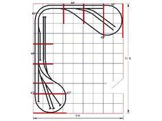 Model+Railroad+Shelf+Track+Plans | ho model railroad benchwork o gauge train layout kits for sale g z s ...