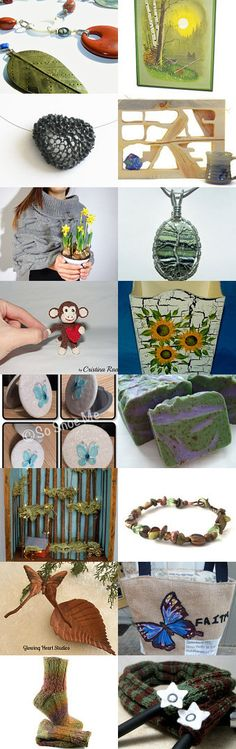 Earth Day Celebration by Nancy on Etsy--Pinned+with+TreasuryPin.com