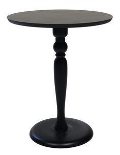 Mesa Lateral Redonda em MDF - h70 x L45 x p45 - OnLine Atelier - Loja Virtual - onlineatelier@hotmail.com - (54) 9165-9726