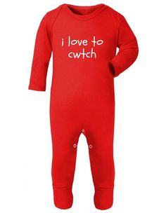 The T Bird I Dont Cuddle I Cwtch Romper Suit Welsh Wales Newborn Sleep Suit