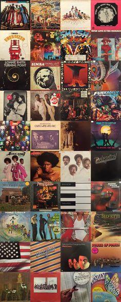 Soul / Funk / Disco / Rare Groove / Jazz / Brasil etc...