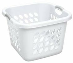 Sterilite Ultra Laundry Basket 12178006 - Pack of 6 by STERILITE. $43.57. White. 19 x 19 x 13-.88. Smooth sidewalls create a no snag inner surface. Color accented inserts provide a comfortable grip for heavy loads. Ultra laundry baskets feature heavy-duty construction including thick reinforced rim and. Ultra laundry baskets feature heavy-duty construction including thick reinforced rim and reach-through handles. Smooth sidewalls create a no snag inner surface. Color accen...