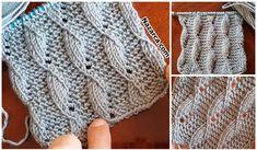 Post 1 Open 1 Closed Leaf Bottle Sample 696439529861989310 P - Diy Crafts - hadido Diy Crafts Knitting, Diy Crafts Crochet, Easy Knitting, Free Knitting Patterns For Women, Lace Knitting Patterns, Knitting Stitches, Free Crochet Bag, Moda Emo, Lana