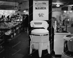 Sears Kenmore Wringer Washer $64.95 8x10 Reprint Of Old Photo