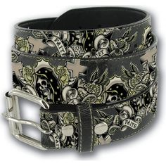 Lucky-13 brings you another classic design with their FAITH DOUBT belt.  Printed ba6e5128240