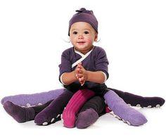 divertido disfraz beb pulpo disfraz casero para nios disfraz hecho a mano para bebes