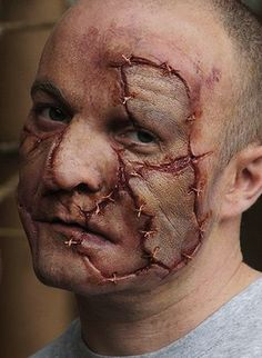 Special effects makeup - beat up gory gruesome special fx ...