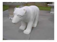 POLAR BEAR HAND CRAFTED MARBLE STATUE is listed on For Sale on Austree - Free Classifieds Ads from all around Australia - http://www.austree.com.au/home-garden/garden/outdoor-setting/polar-bear-hand-crafted-marble-statue_i2074