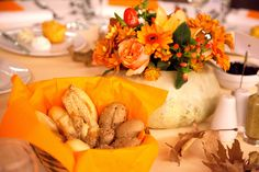 Thanksgiving dinner deco by F Zone Catering & Events www.fzone.gr