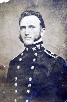"Thomas ""Stonewall"" Jackson: Rare Portrait Photos of The Hero of the American Civil War (1861-1865) ~  Jackson in 1851"