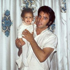 Happy Birthday Lisa Marie! Feb, 1st! #Elvis, Pinned from Maui, Hawaii.  http://www.burnnlove.com/