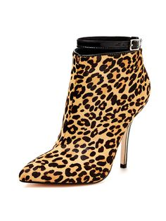 Emmy Pointed Toe Ankle Strap Bootie from Fall Trends: Bold Boots on Gilt