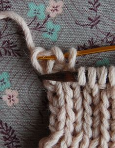 Seen bind off