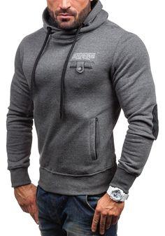 J.STYLE Herren Kapuzenpullover Sweatshirt Hoodie Kapuze Pullover New Y-26: Amazon.de: Bekleidung