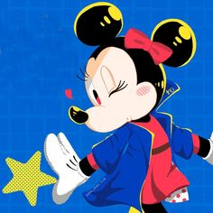 Mickey Mouse And Friends, Mickey Minnie Mouse, Mice, Ava, Mousse, Costa, Long Hair, Daisy, Disney Characters