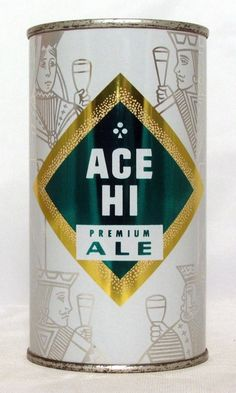 Ace Hi Ale - Beautiful example of this scarce can