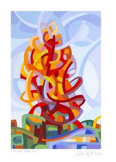 "Daily Paintworks - ""Landscape Study #41"" - Original Fine Art for Sale - © Mandy Budan"