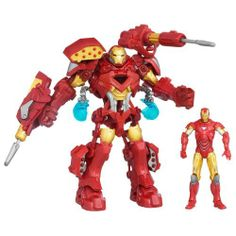 Avengers Marvel Universe Stark Tek Mech Suit - Iron Man Price: 	$33.99 & this item ships for FREE with Super Saver Shipping.