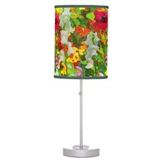 Floral Garden Colors Lamps