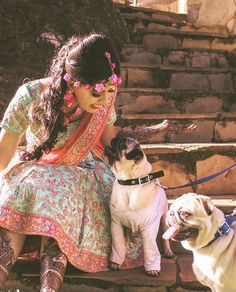The lovely bride totally rocking with her buddies at her mehndi ceremony. Many Congratulations. Shot by . Dog Wedding, Wedding Shoot, Dog Portraits, Bridal Portraits, Mehndi Ceremony, Mehendi Outfits, Beautiful Mehndi Design, Mehndi Photo, Big Fat Indian Wedding