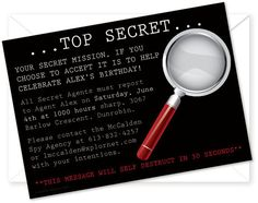 How to Throw a Mystery Party for Kids: Ideas for spy-worthy games, decor & invitations