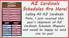 ... | Arizona Cardinals Schedule, Cardinals and St Louis Cardinals