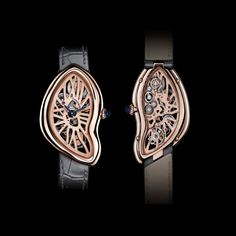The iconic Cartier Crash watch: design by accident