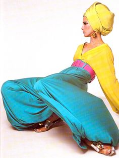 Vintage Pucci - Just adore this - amazing colours and beautiful shapes! But for Halloween maybe!?!? Lol