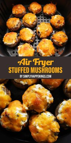 Air Fryer Oven Recipes, Air Frier Recipes, Air Fryer Dinner Recipes, Appetizer Recipes, Appetizers, Air Fryer Recipes Snacks, Air Fryer Recipes Vegetarian, Shrimp Recipes, Pasta Recipes