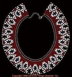 AllThingsUkrainian.com gherdany Bead Jewelry  # GIN15141