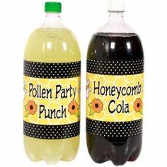 Bumble Bee Large Bottle Labels (2)