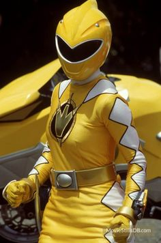 Power Rangers DinoThunder - Yellow Ranger. I always wanted the yellow and black to get together
