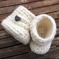 Crochet For Children: Crochet Baby Uggs (Free Pattern)