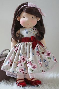 "Waldorf Doll Dress fits 17""- 19"" dolls"