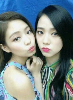 Jennie and Jisoo