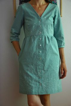 Darling Ranges Dress by Kelly Lea Sews, via Flickr
