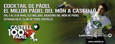 Campaña de publicidad Castellon 100% deporte, para prensa, con imagen de distintos deportes para el Patronato municipal de Deportes de Castellón