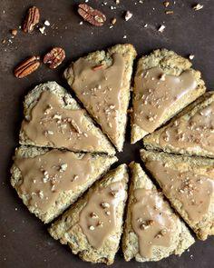 maple oat pecan scones 2
