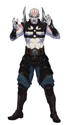 Quan Chi 2019 by Jiggeh on DeviantArt Mortal Kombat Games, Mortal Kombat Art, Marvel Vs, Marvel Comics, Video Game Art, Video Games, Immortelle, Samurai, D D Characters