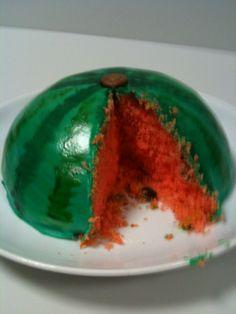 Water melon cake / Wassermelonen Kuchen